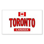 Toronto Canada Rectangle Sticker