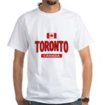 Toronto Canada White T-Shirt