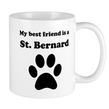 St. Bernard Best Friend Mug