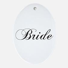 Bride1.png Ornament (oval)