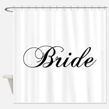 Bride1.png Shower Curtain