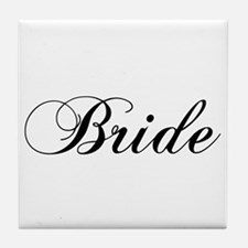 Bride1.png Tile Coaster