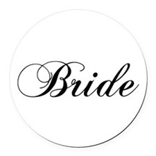 Bride1.png Round Car Magnet