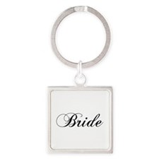 Bride1.png Square Keychain Keychains