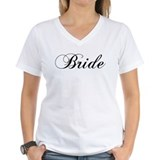 Bride Womens V-Neck T-shirts
