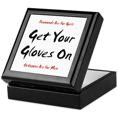 Get Your Gloves On... Keepsake Box