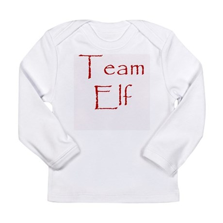 Team Elf Long Sleeve Infant T-Shirt