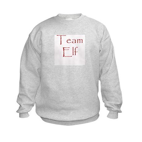 Team Elf Kids Sweatshirt