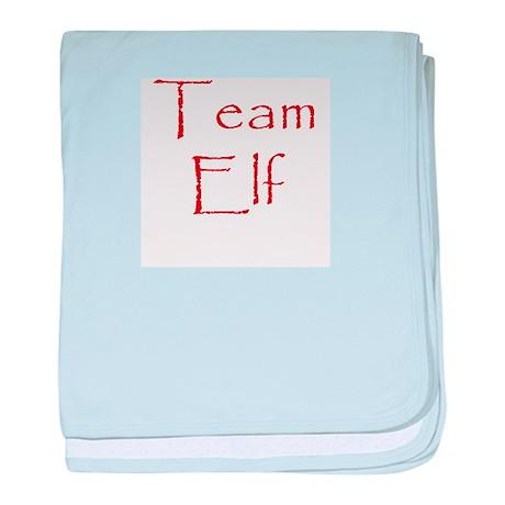 Team Elf baby blanket