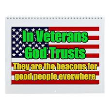 In Veterans God Trusts calendar
