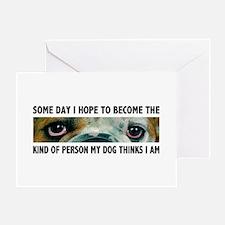 Bulldog Soul Greeting Card