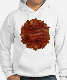 Yummy Delicious Cooked Bacon Pile Hoodie