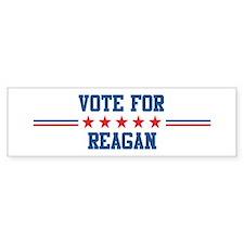 Vote for REAGAN Bumper Bumper Sticker