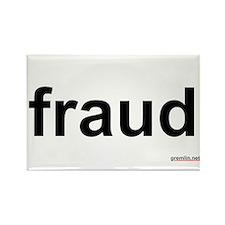 fraud Rectangle Magnet