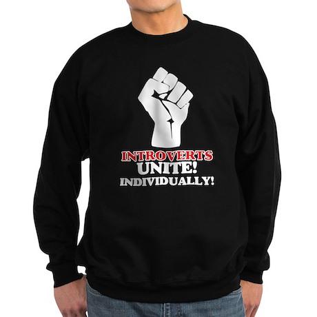Introverts Unite (dark) Sweatshirt (dark)