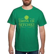 Saint Patricks Day Drinking T-Shirt