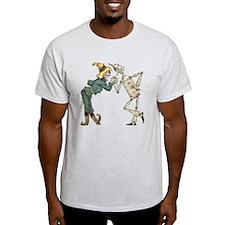 Oz Scarecrow and Tin Woodman T-Shirt