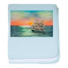 Quiet Seas baby blanket