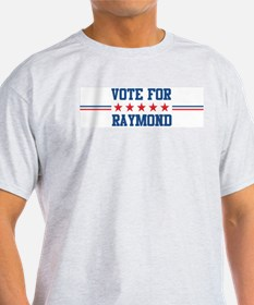 Vote for RAYMOND Ash Grey T-Shirt