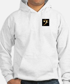 """""""Gold"""" Bass Clef Hoodie"""