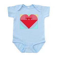 Golden Ratio heart Infant Bodysuit