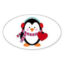 Cute Cartoon Penguin Decal