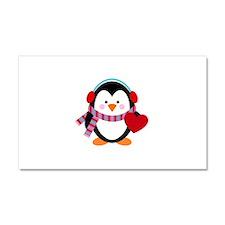 Cute Cartoon Penguin Car Magnet 20 x 12