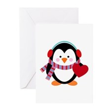 Cute Cartoon Penguin Greeting Cards (Pk of 10)