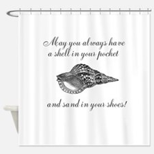 Shell in your pocket Shower Curtain