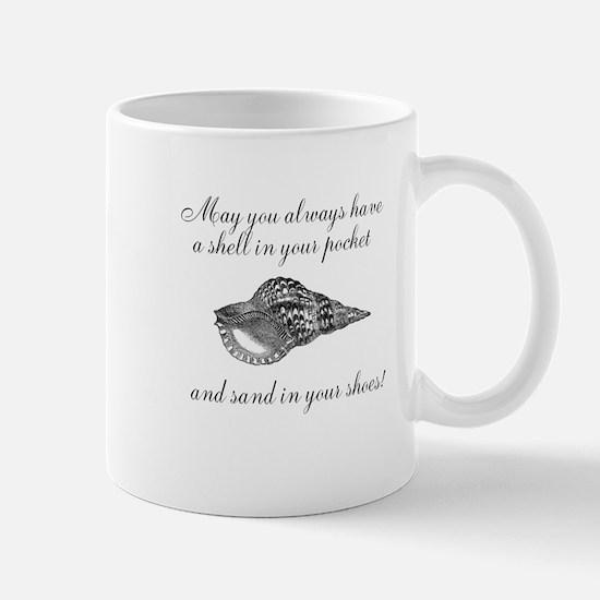 Shell in your pocket Mug