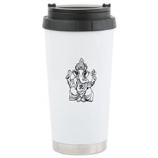 Lord Ganesha Lines Travel Mug