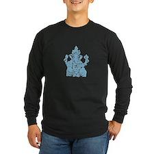 Lord Ganesha Bleu Fill T