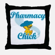 Pharmacy Chick #3 Throw Pillow