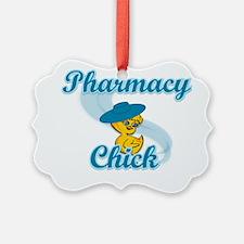 Pharmacy Chick #3 Ornament