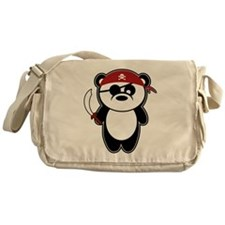 Pirate Panda Messenger Bag