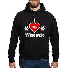 I Heart My Wheatie Hoodie