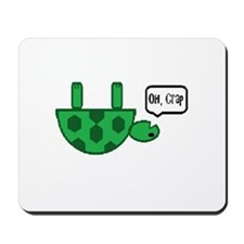 Upside down turtle Mousepad