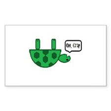 Upside down turtle Decal