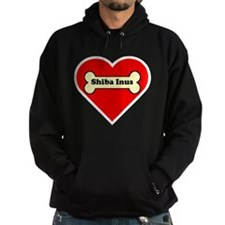 Shiba Inus Heart Hoodie