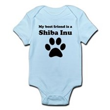 Shiba Inu Best Friend Infant Bodysuit