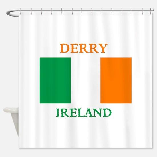 Derry Ireland Shower Curtain