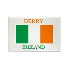 Derry Ireland Rectangle Magnet