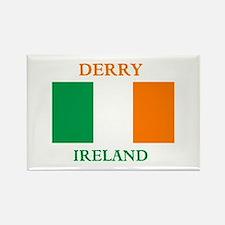 Derry Ireland Rectangle Magnet