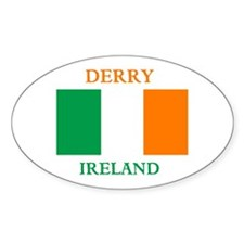 Derry Ireland Decal