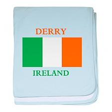 Derry Ireland baby blanket