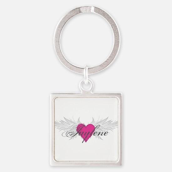 My Sweet Angel Jaylene Square Keychain