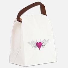 My Sweet Angel Jaylen Canvas Lunch Bag