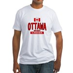 Ottawa Canada Fitted T-Shirt