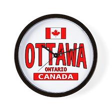 Ottawa Canada Wall Clock