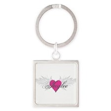 My Sweet Angel Jaylee Square Keychain